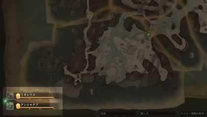 生態マップ上のモンスター一覧