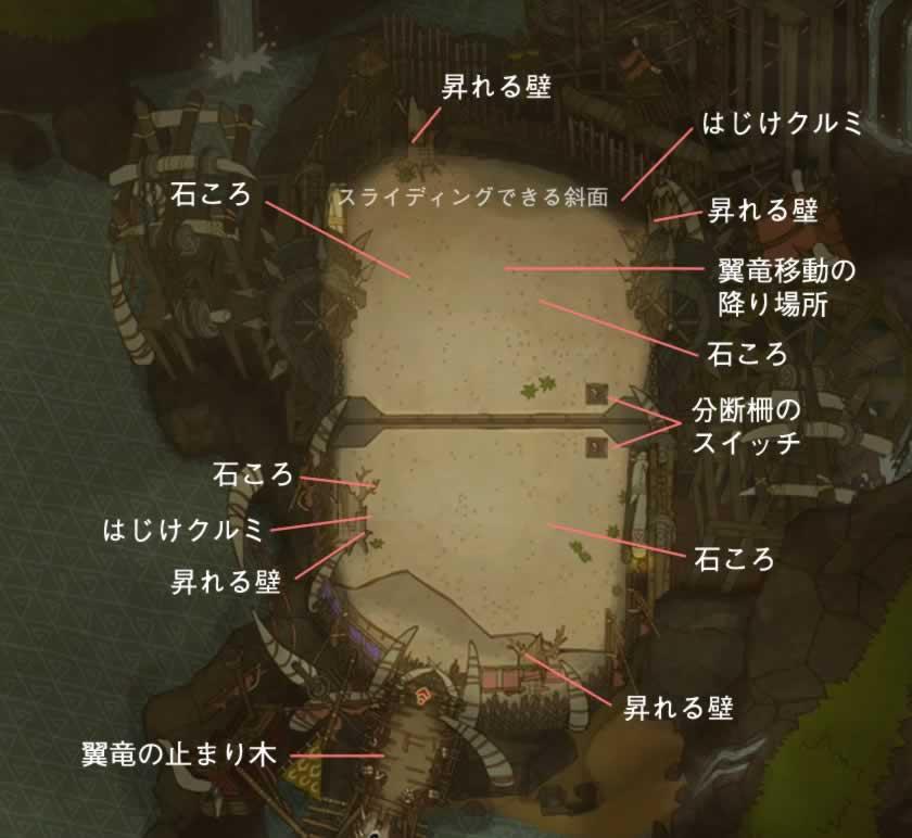闘技場のマップ画像